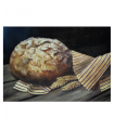 Our daily bread - painting by Angeliki - 20x30 cm