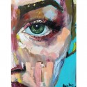 Look of the Soul - painting by world artist Angelina - 550 EUR